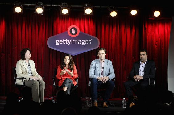 #AWXII - Advertising Week:  (L-R) Editor at AdWeek Lisa Granatstein, VP Content Creation The Huffington Post Mary Gail Pezzimenti, EVP Executive Director of Production at Leo Burnett Vincent Geraghty, and EVP, Head of Integrated Production Energy BBDO Rowley Samuel