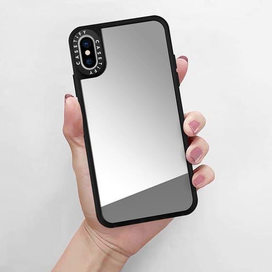 Casetify Mirror Iphone Xs Case Mirror Case Mirror Case Iphone Custom Iphone Cases Iphone