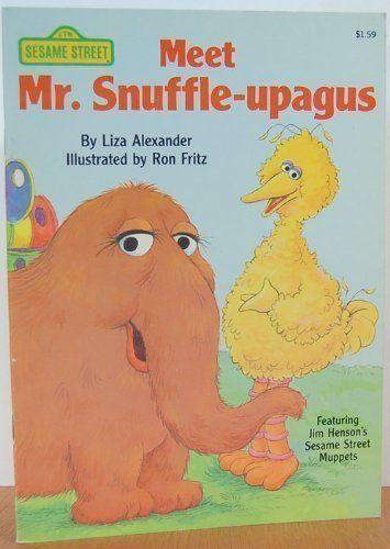 Meet Mr. Snuffle-upagus (Sesame Street Books) by Liza Ale... https://www.amazon.com/dp/0394894332/ref=cm_sw_r_pi_dp_x_Yl7-xbBQZW62P
