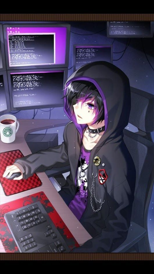 Pin By Rica Marie On Good Looking In 2019 Anime Gamers Pin By Kevin Martinez On Emo Anime Boy Cute Anime Guys Hd Wallpape Dark Anime Handsome Anime Anime Boy
