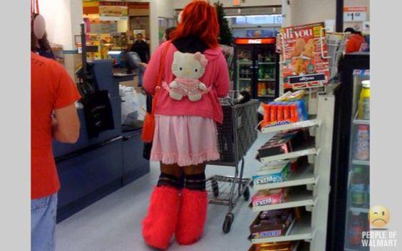 Trashy Dressed People of Walmart   People of Walmart   WebPickUps Blog