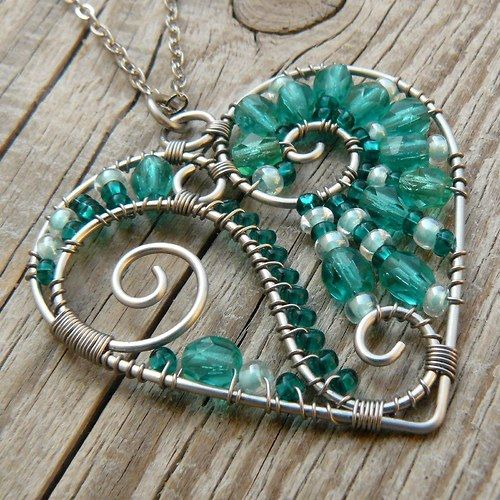 I love the look, but I would do stones instead of beads.