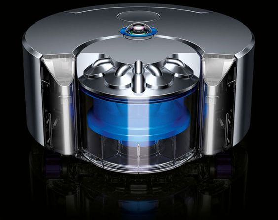 Dyson 360 Eye, A High-End Robotic Vacuum With a 360-Degree Camera for Mapping Cleaning Routes