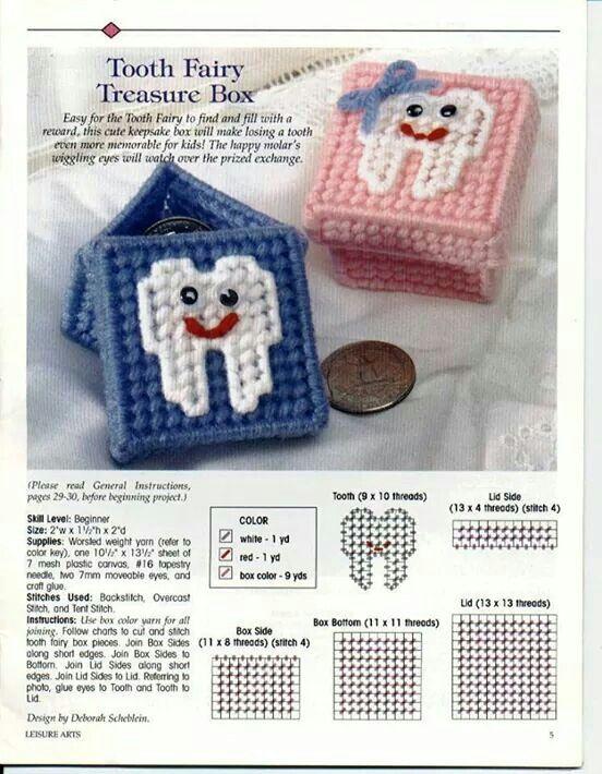 Ceramic Tooth Fairy Boxes