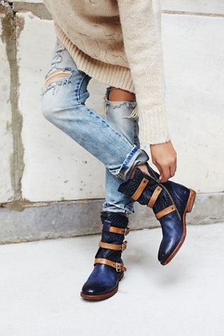 Free people Topanga Buckle Boot