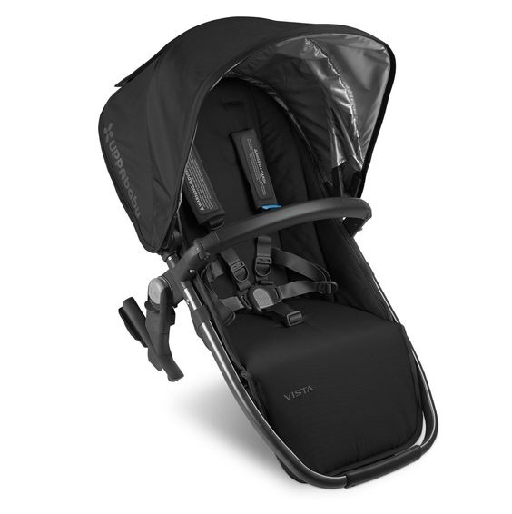 UPPAbaby 2015 Vista Rumbleseat - Denny (Red w/ Silver Frame)   Strollers   Comfort First
