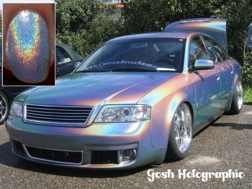Holographic Car | 26 Holographic Fashion Statements You Won't Be Able To Stop Staring At