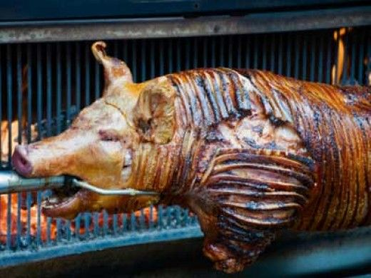 The Ultimate BBQ is a whole roast pig. And if its done right one of the tastiest things you will ever eat.