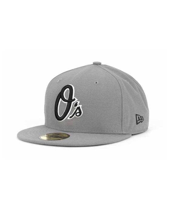 New Era Baltimore Orioles Mlb Gray Bw 59FIFTY Cap