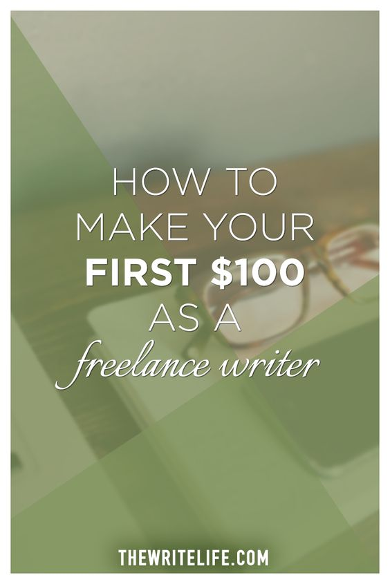 make your first freelance writer