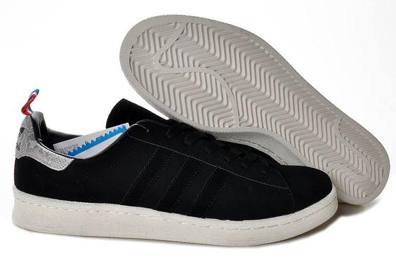 2014 Adidas Original Campus 80s zwarte adidas trainers winkel