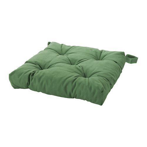 Alternato con quello rosso... per creare la testiera del letto da una piazza e mezzo.  MALINDA Cuscino per sedia IKEA Il nastro a strappo tiene fermo il cuscino per sedia. Facile da pulire: lavabile in lavatrice.