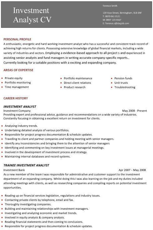 A Professional Cv Template Sample Resume Templates Template