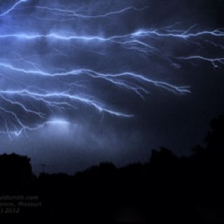 Lightning Storm May 6th, 2012 Independence, MO www.gouldsmith.com