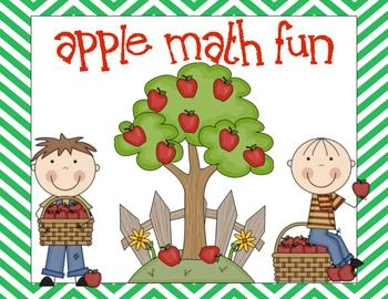Apple Math Fun - Counting practice  Subitizing practice  Matching Cards 1-10  Roll and write - number formation practice  Roll and cover  Spin and write numbers 1-6  Play-doh mats 1-10  Number Sequencing