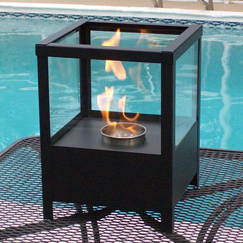 Nu-Flame Fireplace - Sparo Tabletop Bio-Ethanol Lantern