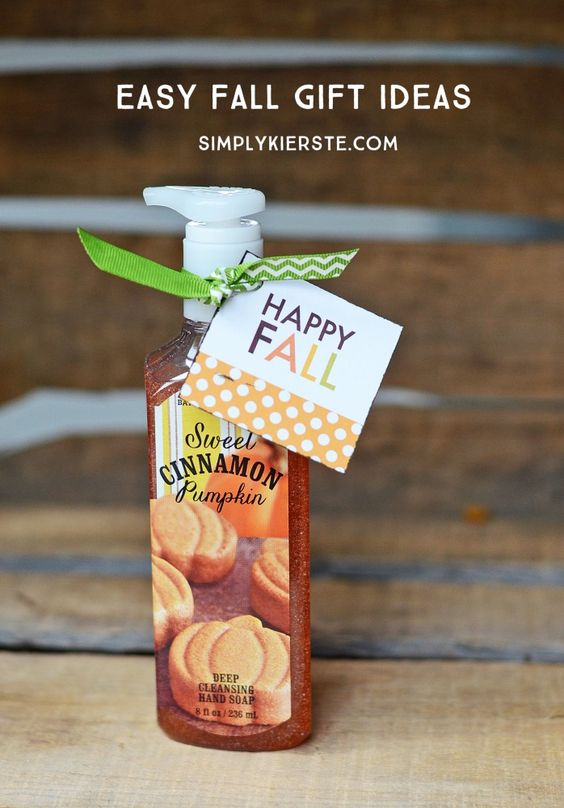 Easy fall gift ideas | Free printables, Friends and Gifts