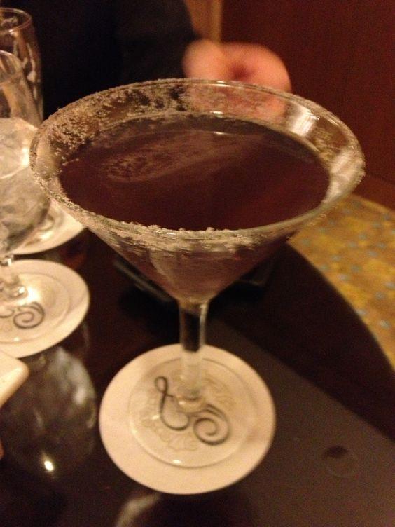 Lavender Martini - yummy!