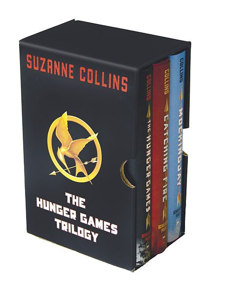 """I think """"dystopian society"""" is the new """"vampires"""" for YA fiction.  I also think that no one will ever do it like Suzanne Collins does.  I will never stop recommending or loving this series."""