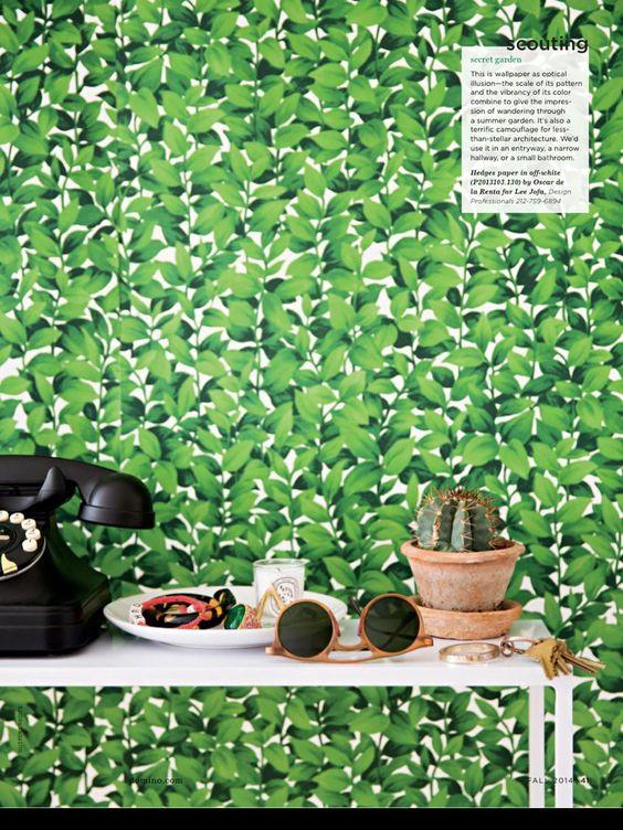 Oscar de la renta wallpaper home wallpaper pinterest for Oscar de la renta wallpaper