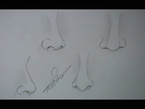 تعلم رسم الانف اشكال الانف وانواعه 1002 Art Drawings Sketches Art Drawings Sketches Pencil Pencil Art Drawings