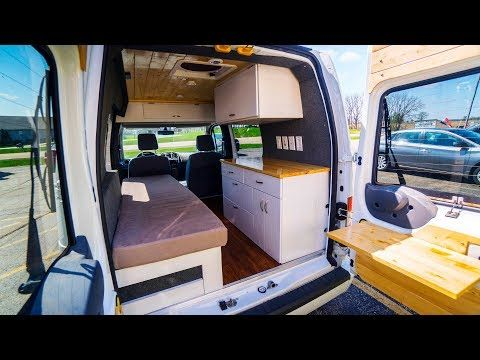 Small Camper Vans The Top 4 Tiny Vans For Living The Van Life Transit Camper Ford Transit Camper Ford Transit