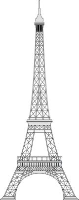 Clip Art Eiffel Tower Clipart eiffel tower clip art topazs paris birthday party pinterest art