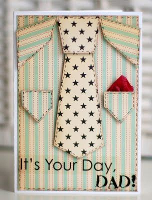 Daddys Day Card idea