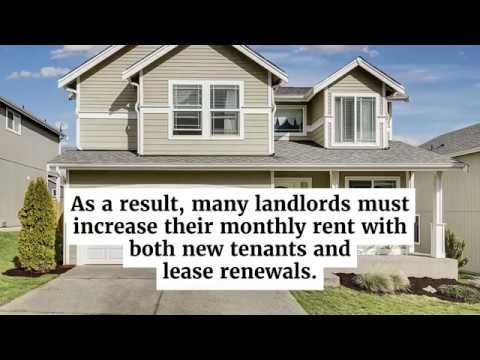 Reasons A Landlord May Raise The Rent Https Youtu Be U1zrph Wyns Being A Landlord Rent Property Management