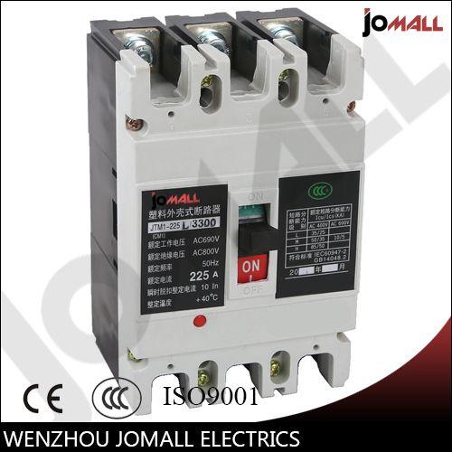 225 Amp 3 Pole Cm1 Type Moulded Case Type Circuit Breaker Mccb Case Breakers Circuit