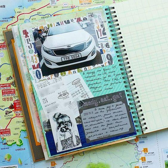 WEBSTA @ journal_junkie - #diary #journal #journaling #stationery #stationeryaddict #smashbook #smash #traveljournal #mt #washi…