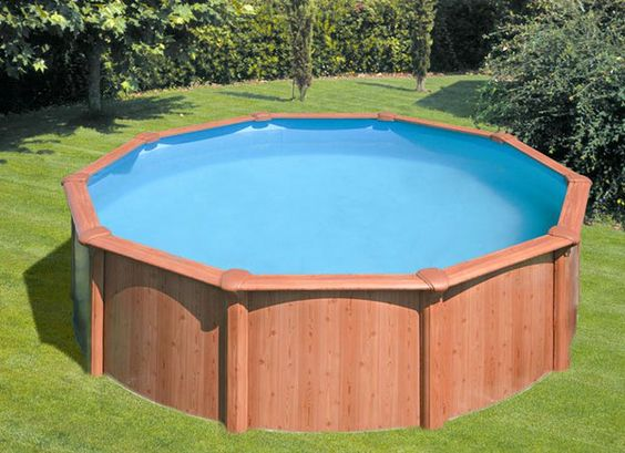 Landscapes pools and decks on pinterest for Above ground pool privacy ideas