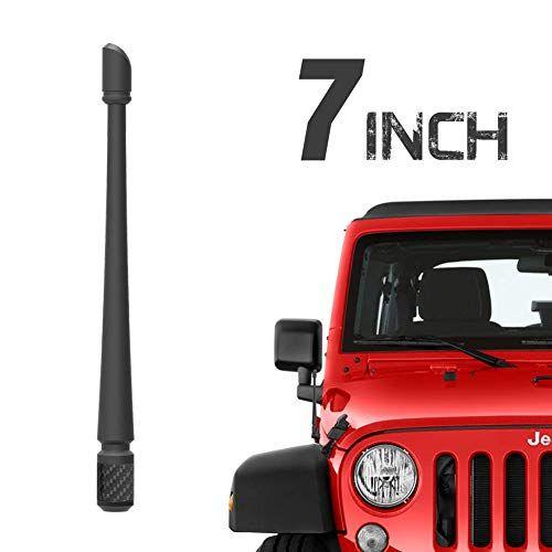 Rydonair Antenna Compatible With 2007 2020 Jeep Wrangler Jk Jku Jl Jlu Rubicon Sahara Gladiator 7 Inches Flexible Ru Jeep Wrangler Jk Jeep Wrangler Jeep
