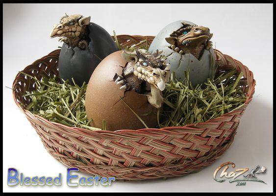dragon egg easter basket