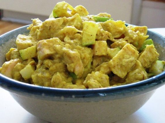 Curried Chicken Salad with Mango | Eat Your Greens | Pinterest ...