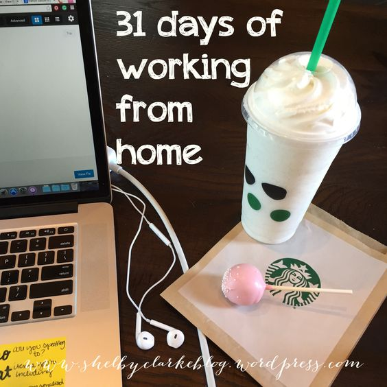31 days 2015 Working from Home