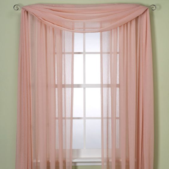 Crushed Voile Sheer 84 39 Rod Pocket Window Curtain Panel Bed Bath Beyond Baby And Kid Stuff