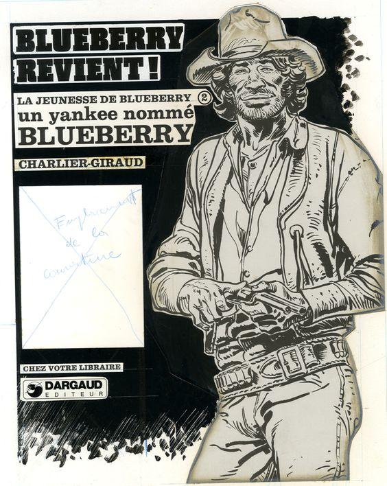 Publicité pour le retour de Blueberry