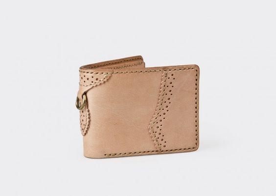Brogues Bi-Fold Wallet by Elhaus