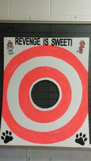 poster for  u0026quot principal pie in the  u0026quot face u0026quot  raffle