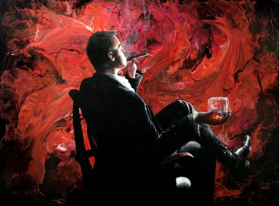 "Shawn Mackey's ""Scotch and Cigar"""