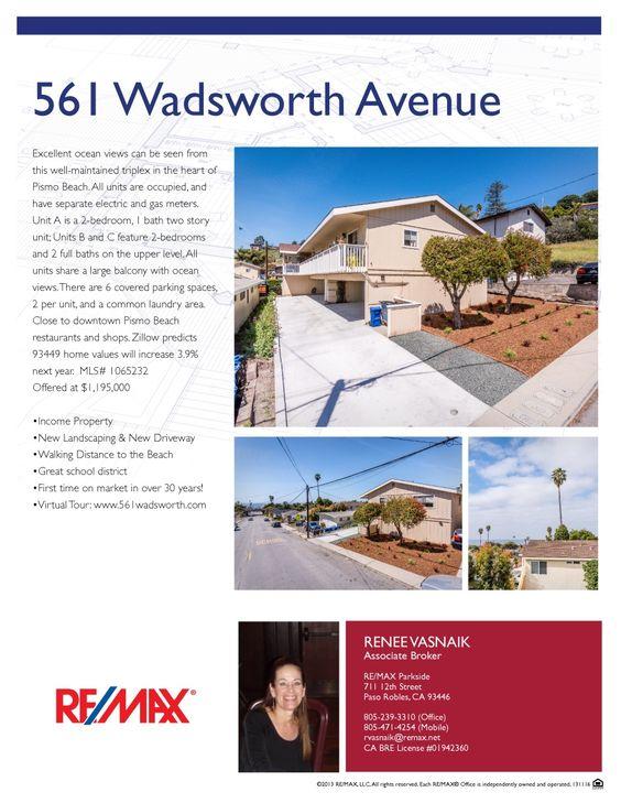 561 Wadsworth Avenue Flyer