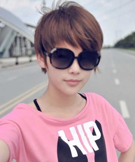 Astounding Cute Short Hair Hair Girls And Cute Hairstyles On Pinterest Short Hairstyles Gunalazisus