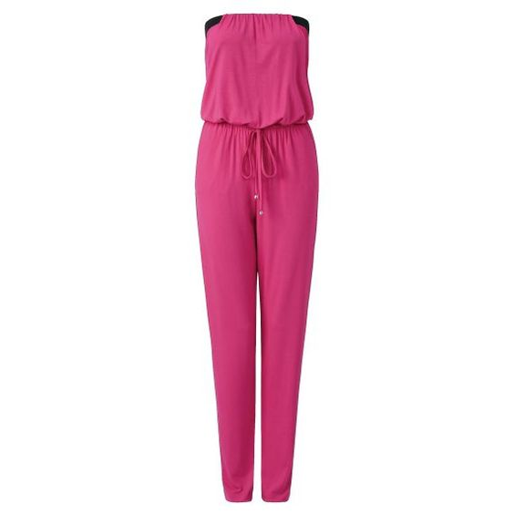 Jerseyoverall im sommerlichen Look. #jersey #overall #conleys #pink
