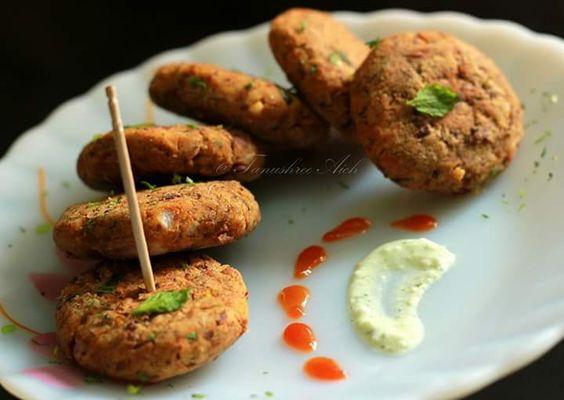 Kale Chane ke Shammi Kebabs