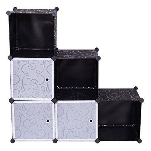 3 Cubic Storage Cabinet Shelf  Bookcase Clothes Closet Organizer Home Furni New