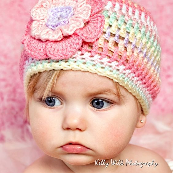 Free Crochet Baby Hat Patterns | PATTERN FOR CROCHET BIKINI PATTERN CROCHET HATS »: