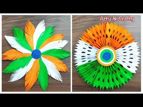 Republic Day Craft Ideas Diy Tricolour Paper Wall Hanging Republic