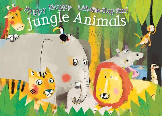 Flippy Floppy Jungle Animals
