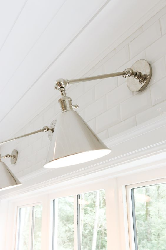 Wall Sconces In The Kitchen : Kitchen lighting, Boston and Lighting on Pinterest